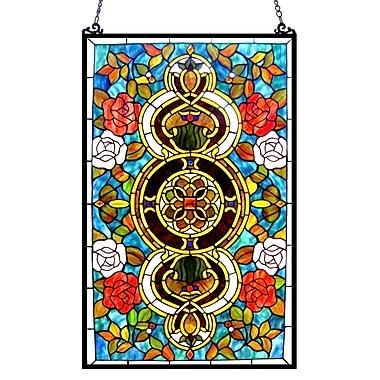 Chloe Lighting Eureka Sonara Victorian Window Panel