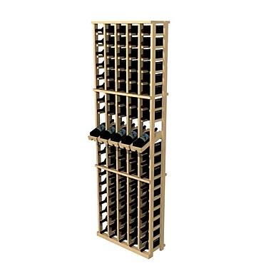 Wine Cellar Rustic Pine 100 Bottle Wall Mounted Wine Rack