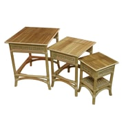 Spice Islands Nesting Table