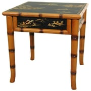 Oriental Furniture Ching Ming End Table