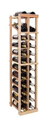 Wine Cellar Vintner Series 24 Bottle Floor Wine Rack; Classic Mahogany