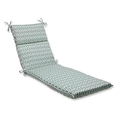 Pillow Perfect Rhodes Outdoor Chaise Lounge Cushion