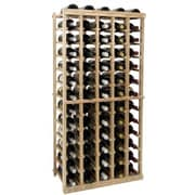 Wine Cellar Vintner Series 65 Bottle Floor Wine Rack; Dark Walnut