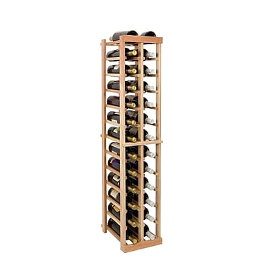 Wine Cellar Vintner Series 26 Bottle Floor Wine Rack; Classic Mahogany