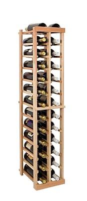 Wine Cellar Vintner Series 26 Bottle Floor Wine Rack; Unfinished