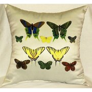 Betsy Drake Interiors Antique Indoor/Outdoor Throw Pillow