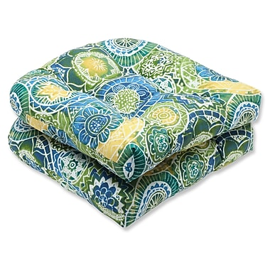 Pillow Perfect Omnia Outdoor Seat Cushion (Set of 2)