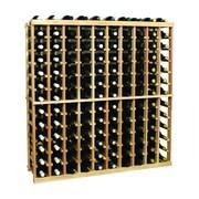 Wine Cellar Vintner Series 130 Bottle Floor Wine Rack; Midnight Black