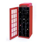Woodland Imports 27 Bottle Floor Wine Cabinet