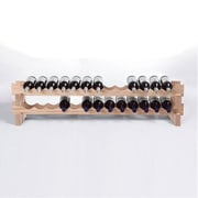 Wine Enthusiast Companies 26 Bottle Tabletop Wine Rack; Natural