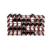 Wine Enthusiast Companies Modular Rack 40 Bottle Tabletop Wine Rack; Mahogany