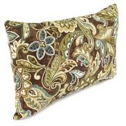 Jordan Manufacturing  Outdoor Lumbar Pillow; Cashel Truffle