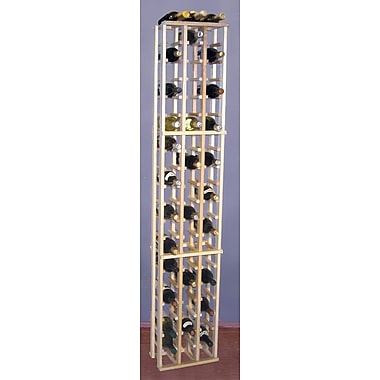 Wine Cellar Country Pine 63 Bottle Floor Wine Rack