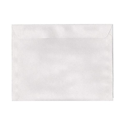 JAM Paper® 9 1/2 x 12 5/8 Booklet Envelopes, Pumice White Recycled, 25/pack (900821357)