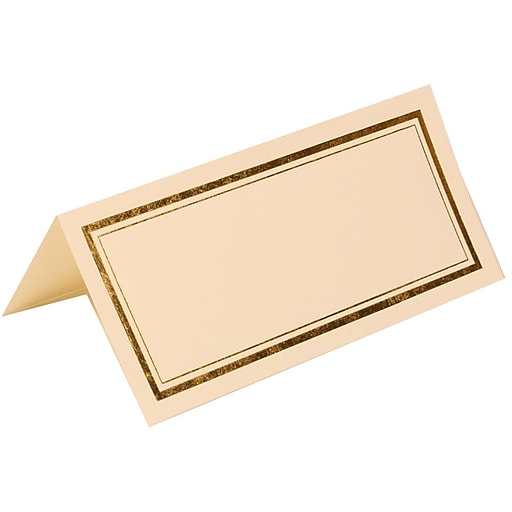 Shop Staples For JAM Paper® Foldover Placecards, 2 X 4.25
