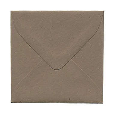 JAM Paper® 3.125 x 3.125 Mini Square Envelopes, Simpson Kraft Recycled, 100/Pack (2841420g)