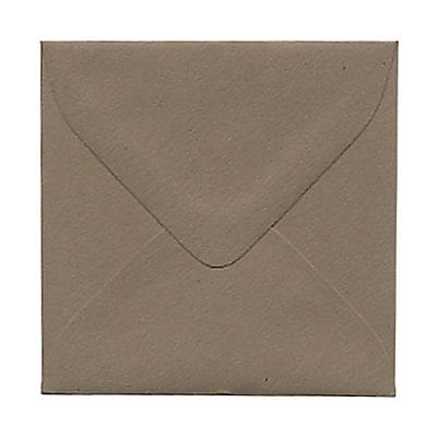 JAM Paper® 3.125 x 3.125 Mini Square Envelopes, Simpson Kraft Recycled, 1000/carton (02841420B)