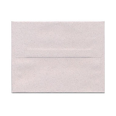 JAM Paper® A2 Invitation Envelopes, 4 3/8 x 5 3/4, Rose Quartz Pink Recycled, 25/Pack