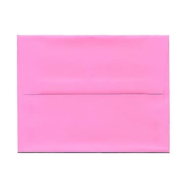 JAM Paper® A2 Invitation Envelopes, 4.38 x 5.75, Brite Hue Ultra Pink, 1000/Pack (WDBH607B)