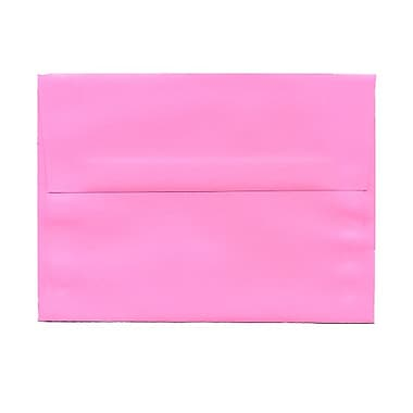 JAM Paper® A6 Invitation Envelopes, 4.75 x 6.5, Brite Hue Ultra Pink, 100/Pack (94606g)