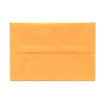 JAM Paper® A8 Invitation Envelopes, 5.5 x 8.125, Brite Hue Ultra Orange, 25/pack (80369)