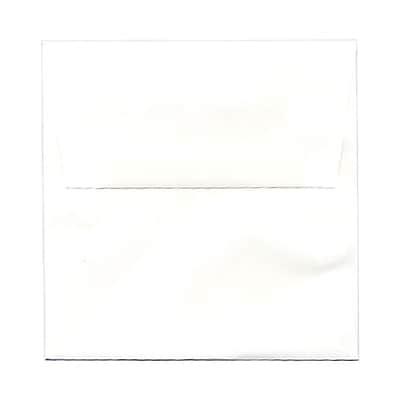 JAM Paper® 5.5 x 5.5 Square Envelopes, White Glossy, 25/pack (2792259)