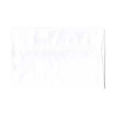 JAM Paper® 5.75 x 8.88 Booklet Envelopes, White, 1000/Pack (04237B)