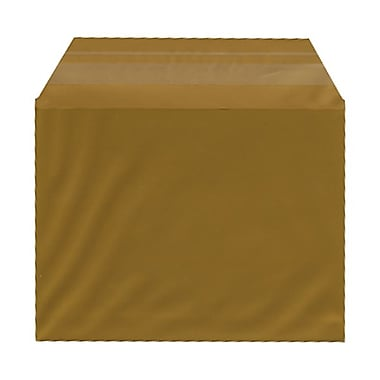 JAM Paper® Cello Sleeves, A2, 4.25 x 5 11/16, Gold, 100/Pack (45SGD1)