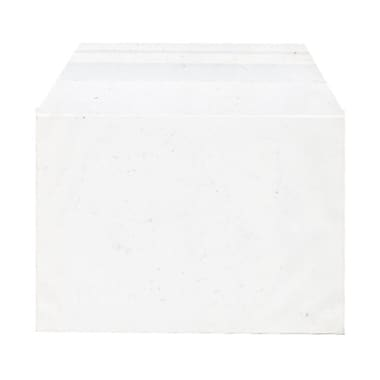 JAM Paper® Cello Sleeves, A2, 4.25 x 5 11/16, White, 1000/Pack (45SFT1B)