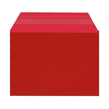 JAM Paper® Cello Sleeves, A6, 4.63 x 6 7/16, Red, 1000/Pack (02783125B)