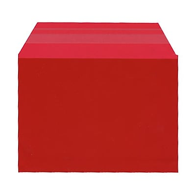 JAM Paper® Cello Sleeves, A6, 4 5/8 x 6 7/16, Red, 100/pack (2783125)