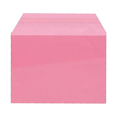 JAM Paper® Cello Sleeves, A6, 4.63 x 6 7/16, Pink, 100/Pack (56SPK1)