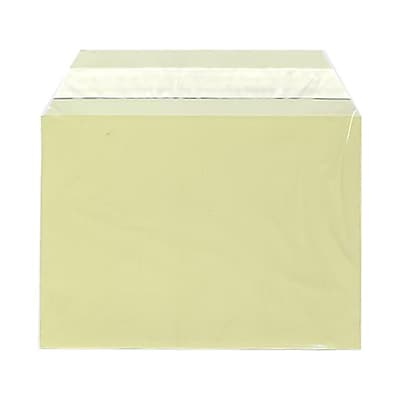 JAM Paper® Cello Sleeves, A6, 4 5/8 x 6 7/16, Yellow, 100/pack (2784900)