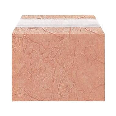 JAM Paper® Cello Sleeves, A6, 4.63 x 6 7/16, Mauve Fiber, 1000/Pack (02785495B)