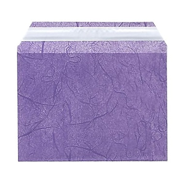 JAM Paper® Cello Sleeves, A6, 4.63 x 6 7/16, Purple Fiber, 100/Pack (2785501)