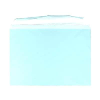 JAM Paper® Cello Sleeves, A7, 5 1/16 x 7 3/16, Aqua Blue, 100/pack (2785503)
