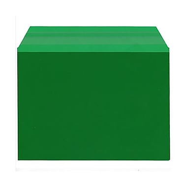 JAM Paper® Cello Sleeves, A7, 5 1/16 x 7 3/16, Forest Green, 100/Pack (5SGR1)