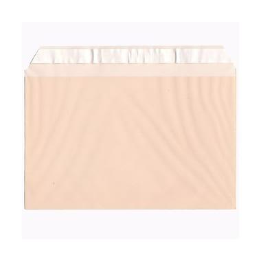 JAM PaperMD – Pochettes de cellophane, 5 3/7 x 8 5/8 po, pêche, 100/paquet