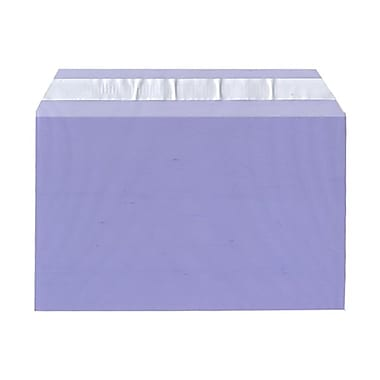 JAM Paper® Cello Sleeves, A9, 5 7/16 x 8.63, Purple, 100/Pack (2784899)