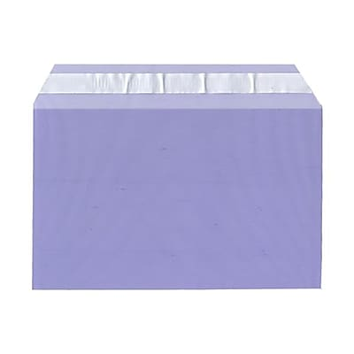 JAM Paper® Cello Sleeves, A9, 5 7/16 x 8 5/8, Purple, 100/pack (2784899)