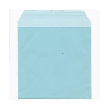JAM Paper® Cello Sleeves, 6 1/16 x 6 3/16, Aqua Blue, 100/Pack (66PB1)