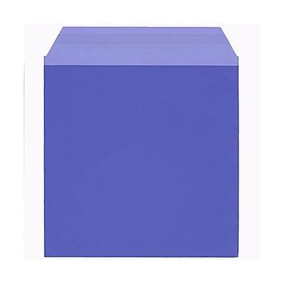 JAM Paper® Cello Sleeves, 6 1/16 x 6 3/16, Purple, 100/pack (66VT1)
