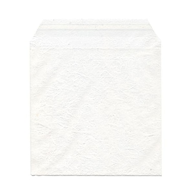 JAM Paper® Cello Sleeves, 6 1/16 x 6 3/16, White Marble, 100/Pack (66WF1)