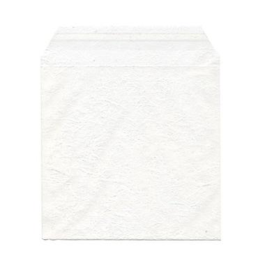 JAM PaperMD – Sachets en cellophane, 6 x 6 1/6 (po), blanc marbré, 1000/paquet