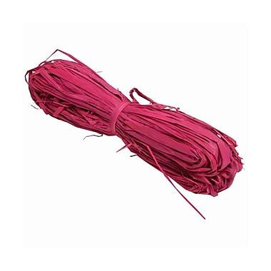 JAM Paper® Wraffia Ribbon Bundle, 1.7 oz, Hot Pink, Sold Individually (3190215233)