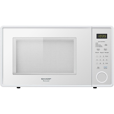 Sharp® 1.1 cu. ft. Mid Size Countertop Microwave Oven With 11.25
