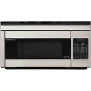 Sharp 1.1 cu. ft. Over The Range Convection Specialty Microwave Oven, 850 W, Stainless Steel by