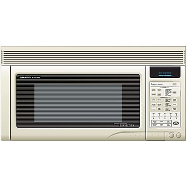 Sharp® 1.1 cu. ft. 850 W Over The Range Convection Specialty Microwave Ovens
