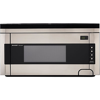 Sharp 1.5 cu. ft. Over The Range Microwave Oven, 1000 W, Stainless Steel 863840