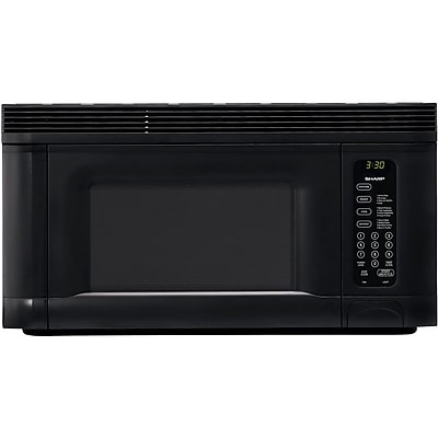Sharp® 1.4 cu. ft. Over The Range Microwave Oven, 950 W, Smooth Black